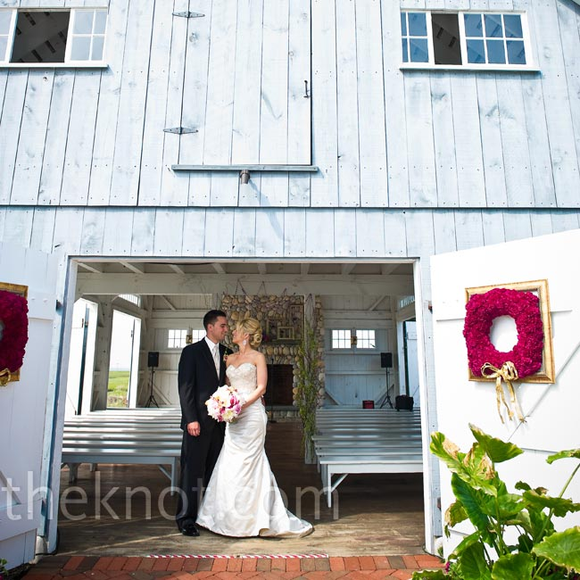 The rustic boathouse 
