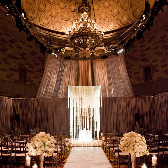 The couple's all-floral 