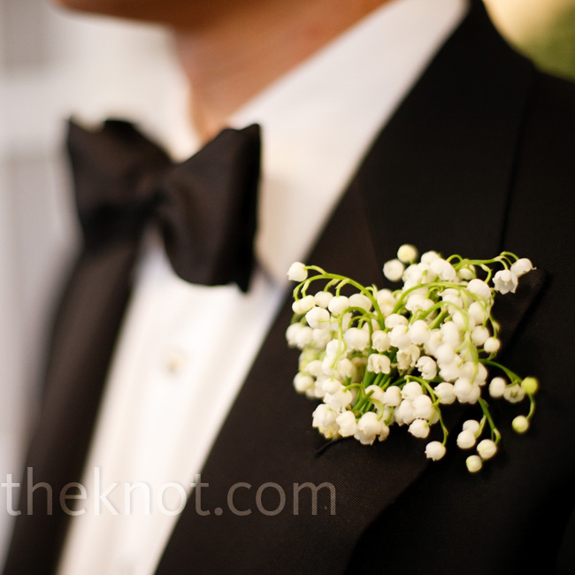 Will wore a boutonniere 