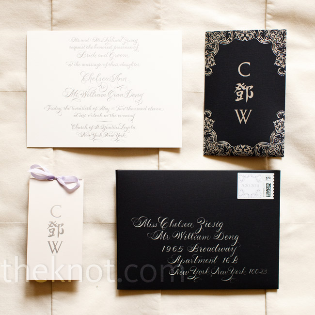 White calligraphy popped 