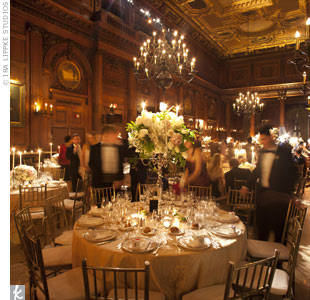 Candelabras, chandeliers 