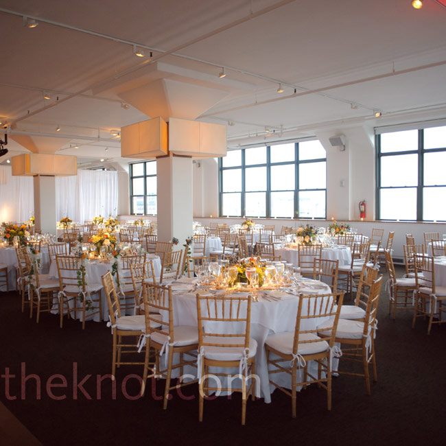 Simple white linens in 