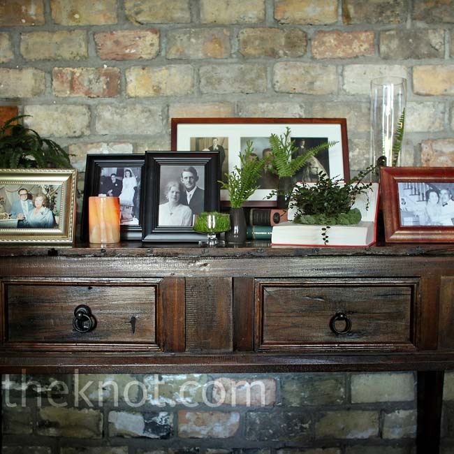 The couple displayed 