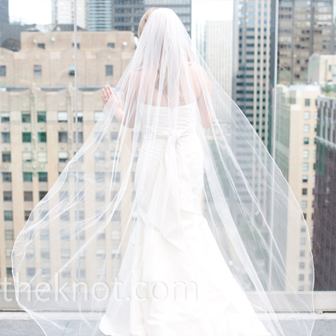 Floor-length Wedding Veil