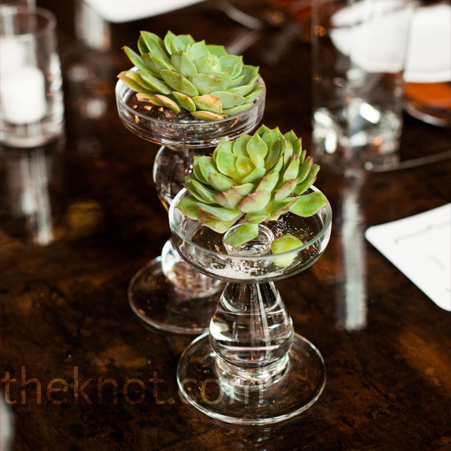Jennifer loved the reclaimed-wood tables 