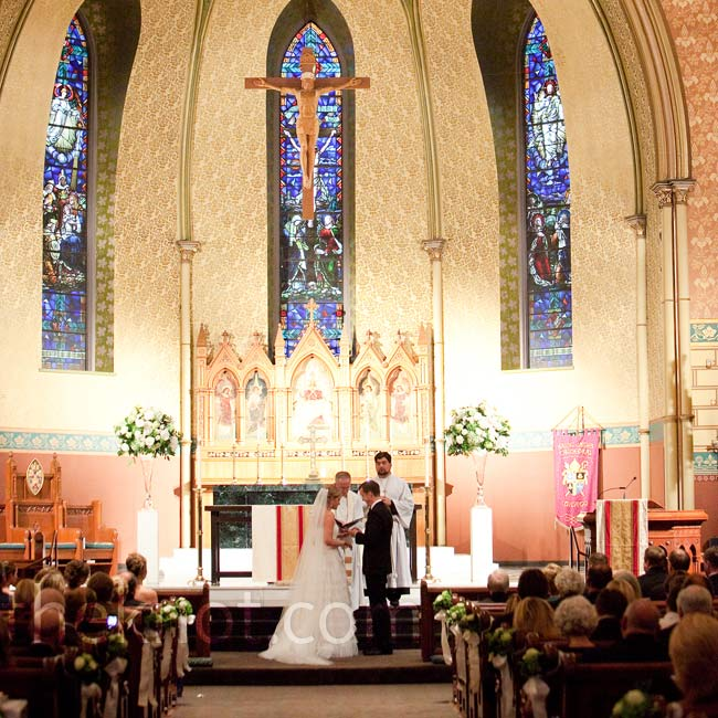The couple married at 