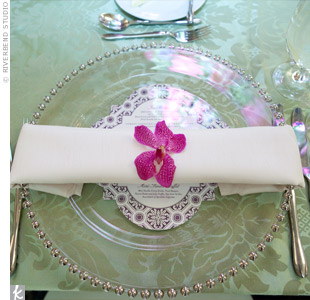 Glass chargers showed 