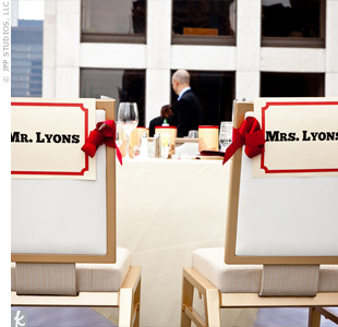 Simple signs printed in a bold graphic font marked Irina's 