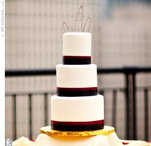 Modern Skyline Cake