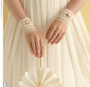 Lace Cuff Wedding Accessory