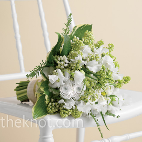 Fresh Green Bridal Bouquet