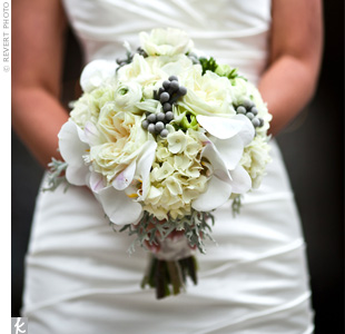 White and Gray Bouquet