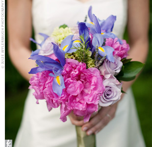 Purple Iris Bouquet
