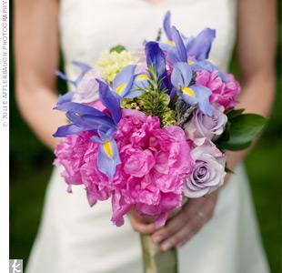 Purple Iris Bouquet