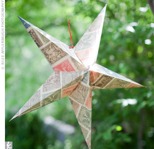 Salvo designed an LED light to illuminate 80 paper-star lanterns made by friends and family.
