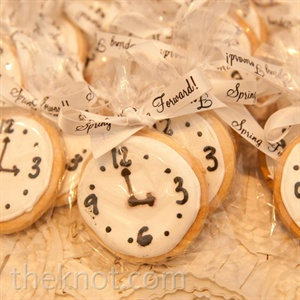Daylight Savings Cookie Favors