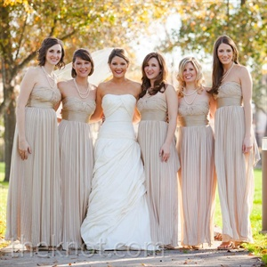 Floor-Length Bridesmaid Dresses