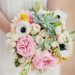 Romantic Pink Bridal Bouquet