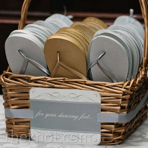 Flip Flop Wedding Favors
