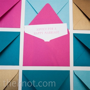 Mini Envelope Guest Book