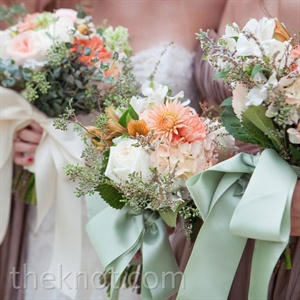 White and Pink Bouquets