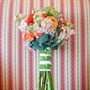 Pink and Peach Bridesmaid Bouquet