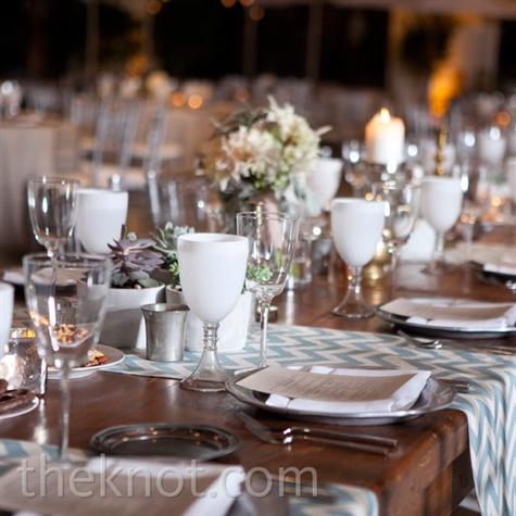 Modern Wedding Place Settings