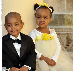 Classic Ring Bearer and Flower Girl Attire