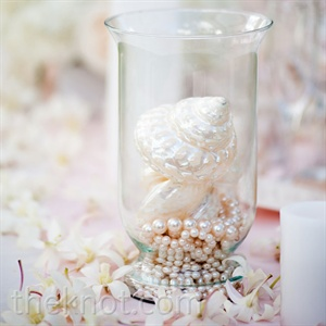 Shell and Pearl Centerpieces