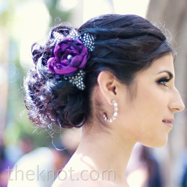 Lavender Flower Hair Wedding Style: 301 Moved Permanently