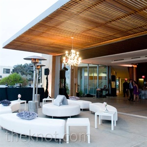 Outdoor Reception Lounge