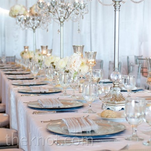 Chic Reception Centerpieces