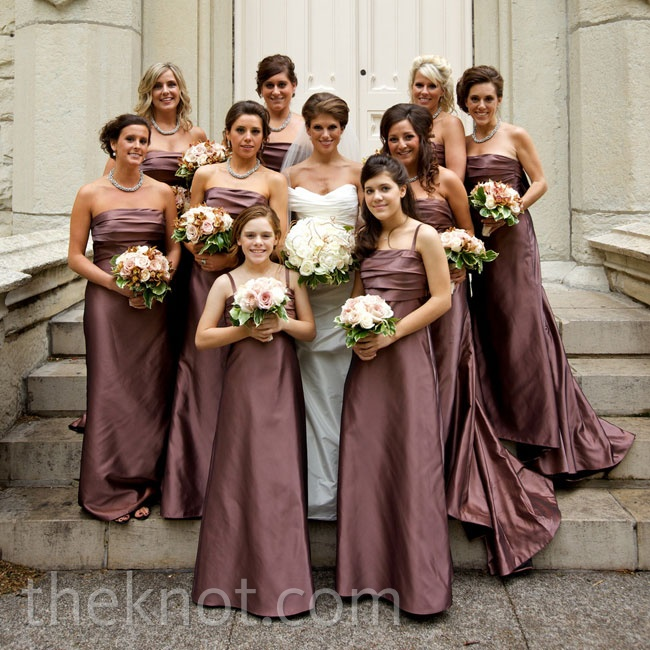 Bridesmaid Dresses Mauve - Amore Wedding Dresses