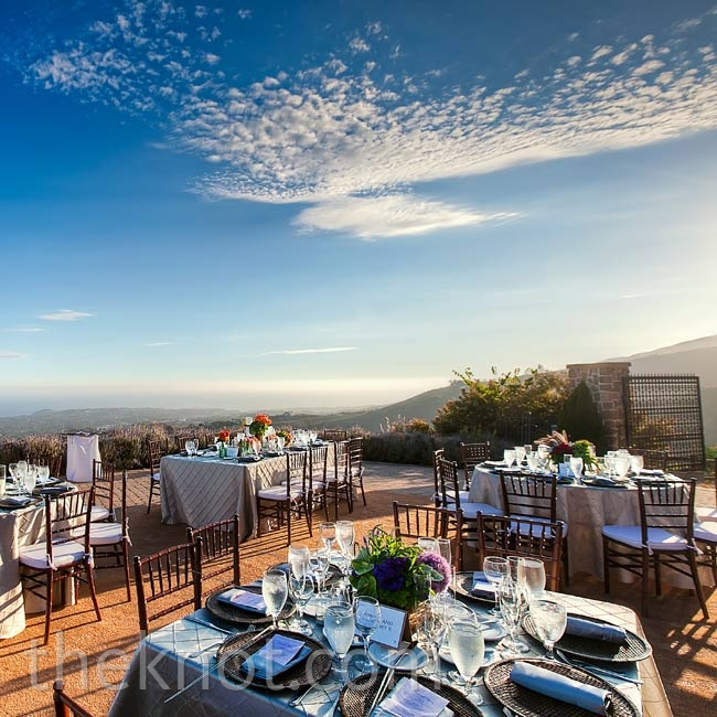 Guests enjoyed the sweeping 360-degree vista of the ocean from Villa Cascata.
