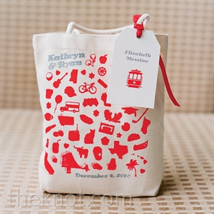 Red Welcome Bag