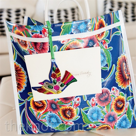 Tropical Beach Bag Favor