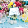 Tropical Table Decor and Glassware