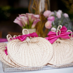 Sea Grass Fan Favors