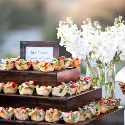 Passed Wedding Menu Hors Duvre Picturesso