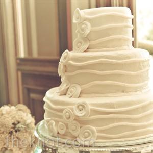 Fondant Stripe Cake