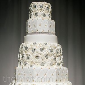 Crystal Quilted Cake