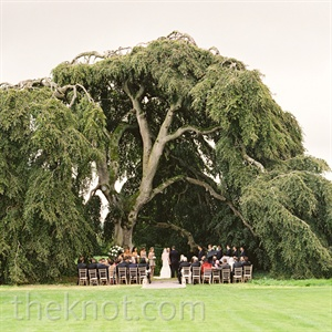 Outdoor Ceremony in Ireland