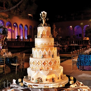 Intricate Wedding Cake