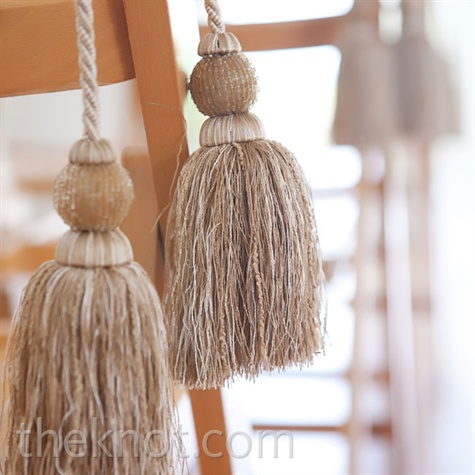 Gold Tassel Decor