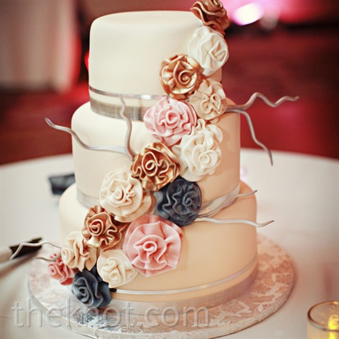 Sugar Flower and Branch Cake