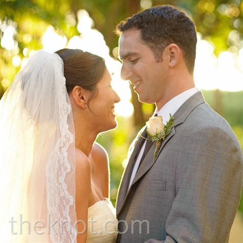 Lace-Trimmed Wedding Veil