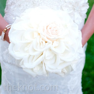 White Rose Composite Bouquet
