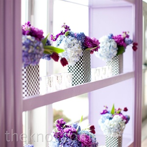 Colorful Reception D&#233;cor