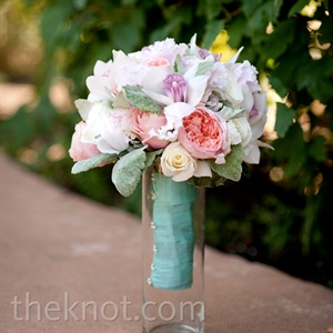 Rose and Orchid Bridal Bouquets