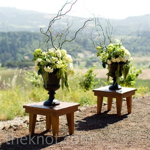 Floral Ceremony Altar